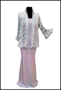 outsize evening jacket,