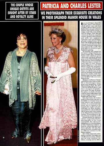elizabeth taylor birthday dresses