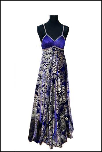 Formal Party Evening Wear Elegant Long Velvet Dress